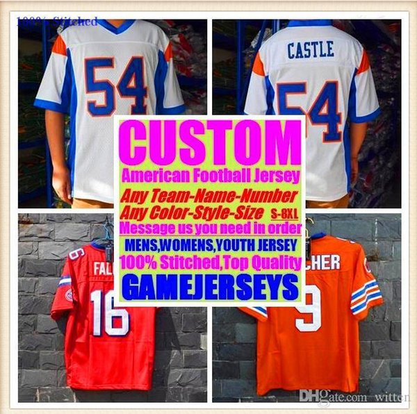 All Stitched Custom american football jerseys Los Angeles team college authentic cheap baseball basketball hockey jersey 4xl 5xl 8xl france