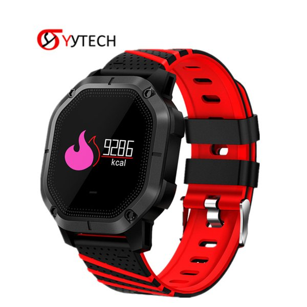 SYYTECH K5 waterproof Bluetooth smart watch heart rate sleep monitoring sports pedometer smart bracelet For Android IOS