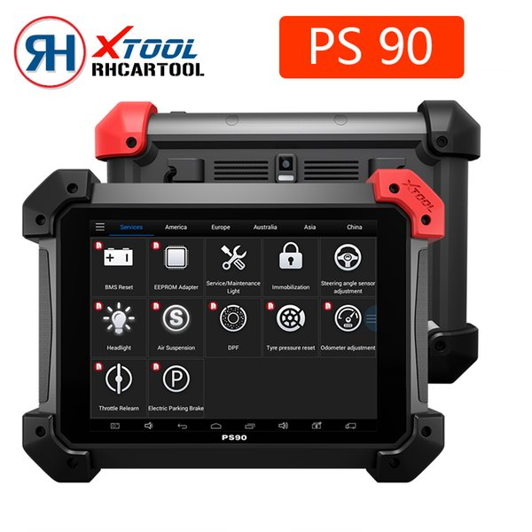 Diagnostic tool XTOOL PS90 Automotive OBD2 With Key Programmer/Odometer Correctio/EPS Support Multi Car models Best ez400 ez500