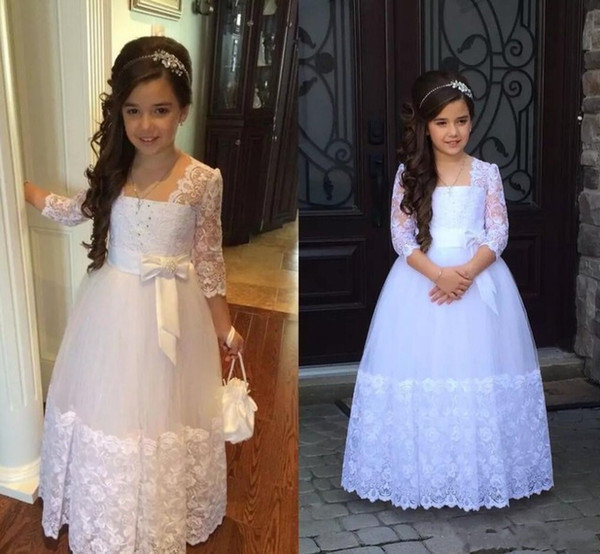 Abito da prima comunione personalizzato per bambini Abiti da cerimonia per bambini Abiti da cerimonia per ragazze Abiti da spettacolo per ragazze