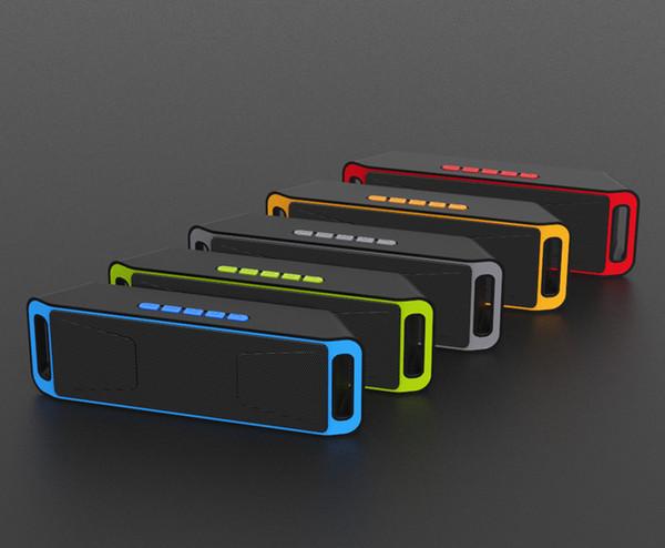 2019 vendita calda wireless altoparlante esterno bluetooth commercio estero esplosione SC208 doppio corno subwoofer mini Bluetooth audio regalo