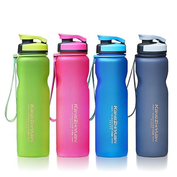 1000ml Plastic Sports Water Bottle Space Kettle Bike Outdoor Cycling Drinkware Fruit Infuser My Water Bottle Shaker Eco-friendly T8190627