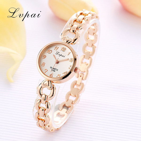Vente Hot Fashion Montre Femme Montre-bracelet cadran rond cristal quartz en acier inoxydable Montres Mesdames #B