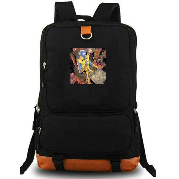 Grandmaster sırt çantası Süper kahraman fotoğraf okul çantası En Dwi Gast sırt çantası Tuval dizüstü schoolbag Açık sırt çantası Spor günü paketi