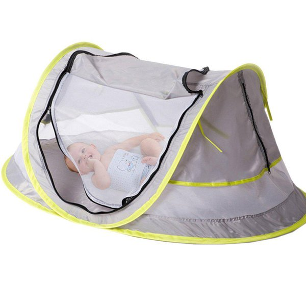 Light Waterproof Kids Baby Mesh Folding Travel Camp Beach Bed Mosquito Net Tent