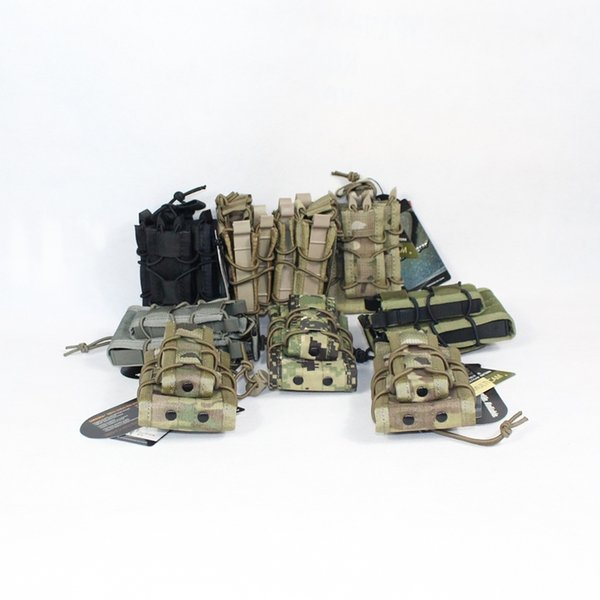 EMERSON Double Rifle Magazine Pouch military army bag MOLLE EM6346 multicam black coyote brown OD ATFG AOR2 KH Hunting Mag #359534