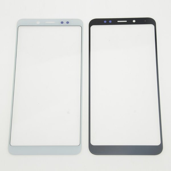 2PCS Front Outer Screen Glass Lens Replacement Parts for Redmi 5 5 Plus Screen Touch Panel Cover for Redmi Note 5