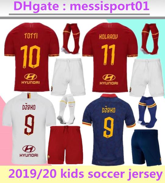 Roma 201920 Home Shirt Kinder Kids