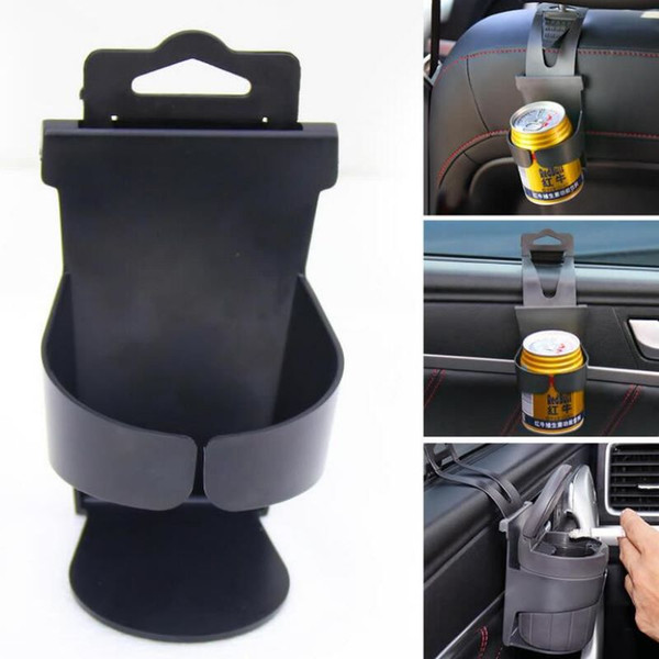 top popular Universal Car Cup Holder Door Hanging Cupholder Portable Car Drinks Holder Auto Drink Bottle Mount Backseat Cup Stand 2019