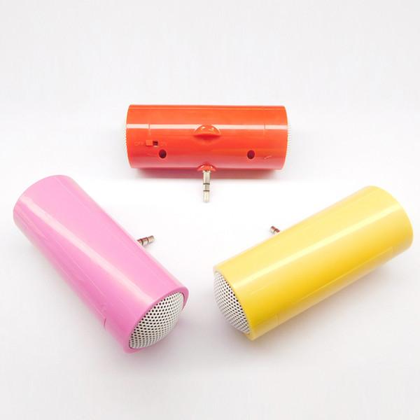 Lautsprecher für Musik 3,5-mm-Direkteinsatz Stereo-MP3 für MobiltelefoneTablet PC Music Player Lautsprecher Mini-Lautsprecher-Mikrofon