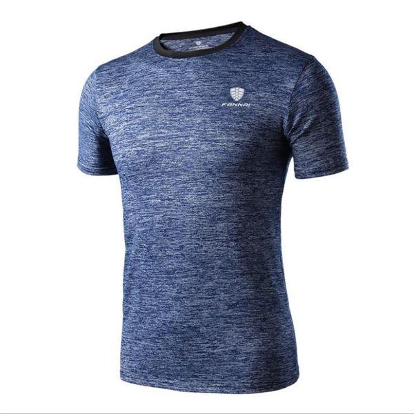 2019 Summer New Designer Sports T Shirts For Men Tops Blue T Shirt Mens Clothes Brand T-Shirt Short Sleeve Man Tshirt M-4XL Tees