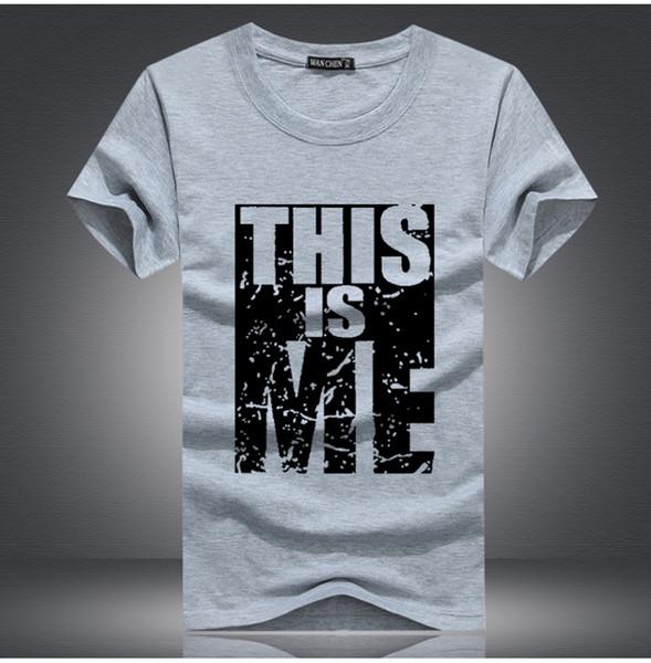 2017 new Brand Clothing Men T-shirt Swag T-Shirt Men Cotton Print T shirt Homme Fitness Camisetas Hip Hop tshirt