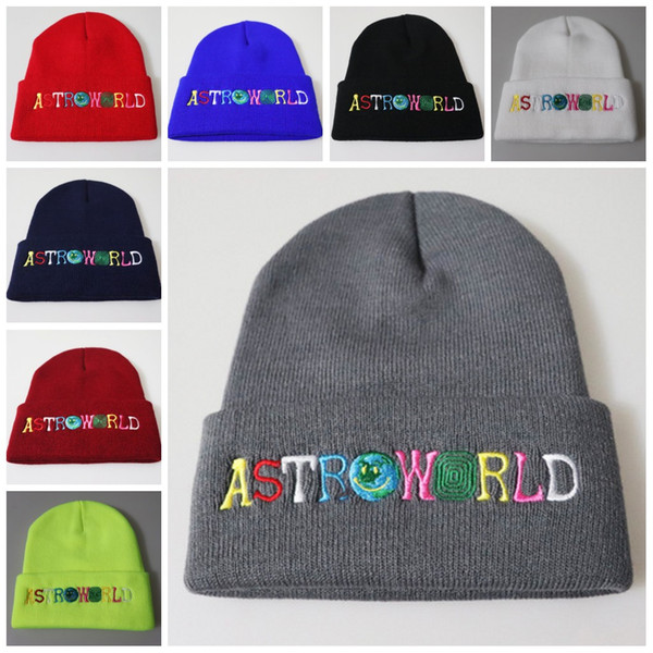 Fashion Knitted Hats Wool Caps Winter Cap Hat Warm Soft Beanie Unisex Wish You Were Here Cap Accessory Soft Comfortable Skullies M257Y