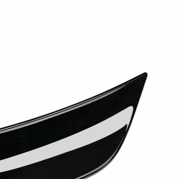 ABS Gloss Black Trunk Spoiler Asa Tampa Track Pack Estilo Para 15-19 Ford Mustang