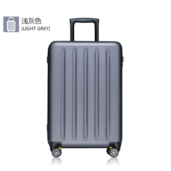 Luggage bag Ultralight business PC Spinner carry on luggage Unisex wearproof minimalism traveling bags with wheels