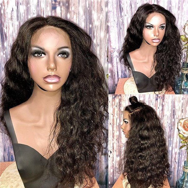 Fashion shop products new arrival Human Hair Full/front lace wavy wigs Glueless deep wave long for women