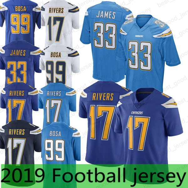 brand new 03fdc d9150 2018 33 Derwin James Jersey Los Angeles Charger 99 Joey Bosa 17 Philip  Rivers Reliable Quality Men Football Jerseys 2019 From Best_good_jersey,  $23.25 ...