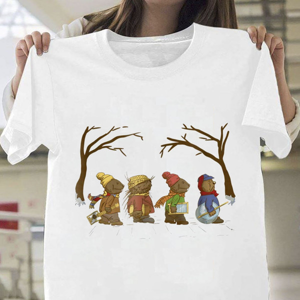 Emmet Otter's Jug-Band Christmas T Shirt White Cotton Men S-6XL US Supplier Funny free shipping Unisex Casual Tshirt top