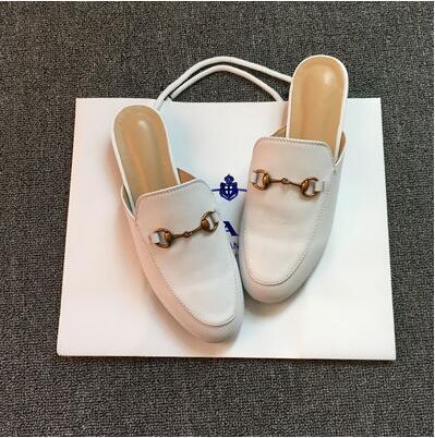 weißes Leder