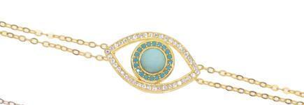 gold turquoise-15 with 4cm