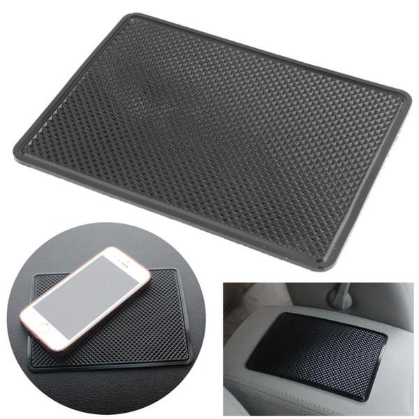 nterior Accessoires anti-Mat VODOOL 19x12cm Silicone Car Anti Slip Mat Dashboard Téléphone MP3 GPS Lunettes de soleil Clés Mount Holder Support non -...