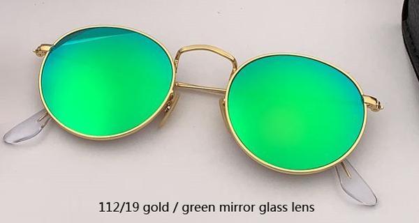 Espelho de ouro / verde 112/19