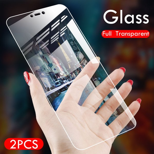 ZNP 2Pcs 9H Screen Protector Tempered Glass For Xiaomi Redmi Note 5 6 Pro Full Cover Protective Glass For Redmi 5 Plus 6 6A Film