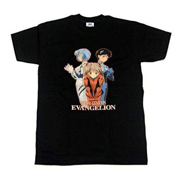 Vintage Neon Genesis Evangelion 1990 anime t-shirt Para homens akira Todo o Tamanho Das Mulheres Dos Homens Unisex Moda tshirt Frete Grátis Engraçado Legal Top Tee