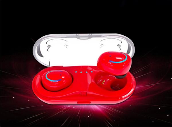 Q18 TWS - drahtloses Zwei-Ohr-Bluetooth-Headset Mini-Wireless-Ohrstöpsel mit kleinem, unsichtbarem Ohr-zu-Ohr-Bluetooth-Headset