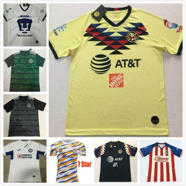 DHL Ücretsiz nakliye MX Kulübü Amerika forması 19 20 Meksika LIGA Ev Camiseta de futbol O. TOPALTA.