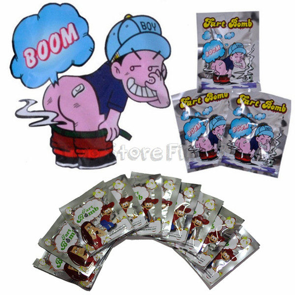 top popular Funny Toy Fart Bomb Bags Stink Bomb Smelly Funny Gags Practical Jokes Fool Toy April Fool's Day Tricky Toys 2021