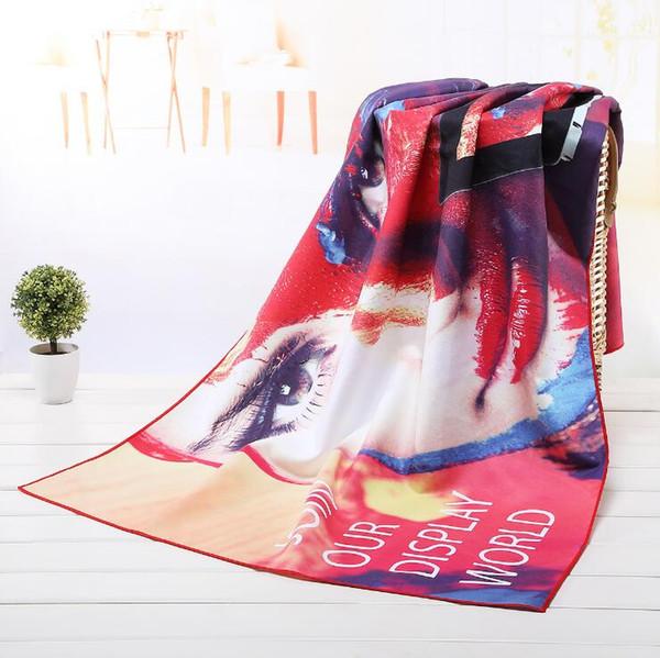 BIndian Mandala Telo rotonda Beach Blanket microfibra stampa Arazzo Bagno Asciugamani Yoga Mat Summer Picnic Tappeto 75 * 150cm