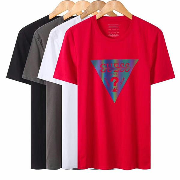 GUESS T Shirts Brand Mens T-Shirts Luxury Men T Shirt Summer Hot sell TShirts Women Short Sleeve Shirt Clothes Crew Neck Tee High qualit hot