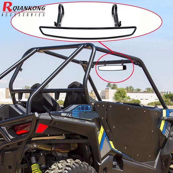 "15/"" Wide Rear View Race Mirror W//1.75/"" Clamp For Polaris RZR800 XP900 XP1000 UTV"