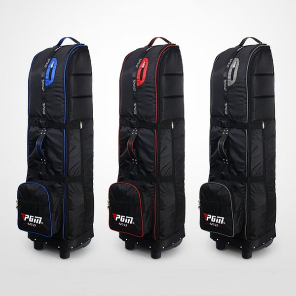 2019 PGM Golf Aviation Bag Golf Air Package Folding Large Capacity Travel Bag with Wheels 3 Colors D0070
