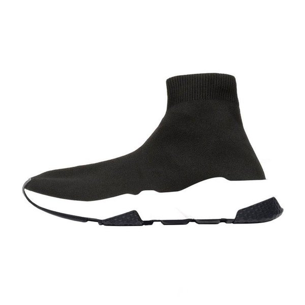 Arrivlas designers Fashion Luxurys For Women Men Speed Trainer off Red Triple Black Flat Casual shoes Sock Boots Mens Shoes 36-45