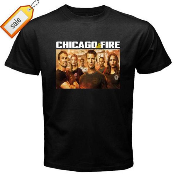 T-shirt noir pour hommes de New Creedence Clearwater Revival Usmo