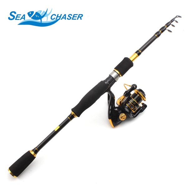 1.8-3.6m Spinning rod Rod and 12BB Reel Set and Fishing of 99% Carbon lure fishing Combo De Pesca Free shipping