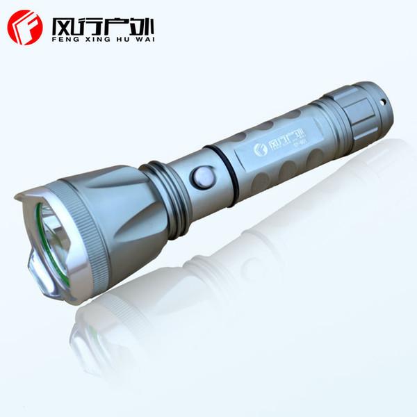 601 Işık El Feneri Q5 Noktası Uzun Çekim 18650 Şarj Bisiklet Savunma Su Derinlik Işık Fincan Kaliteli Mal Üretimi