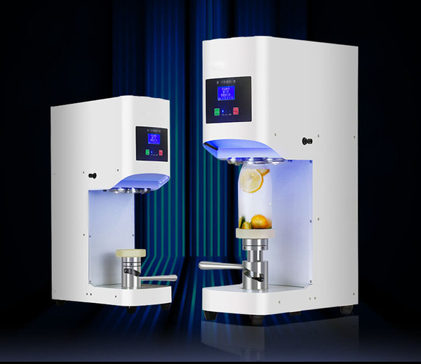 FREE SHIPPING Fully Automatic intelligent can sealing machine milk tea coffee bubble drink bottle sealing commercial capper