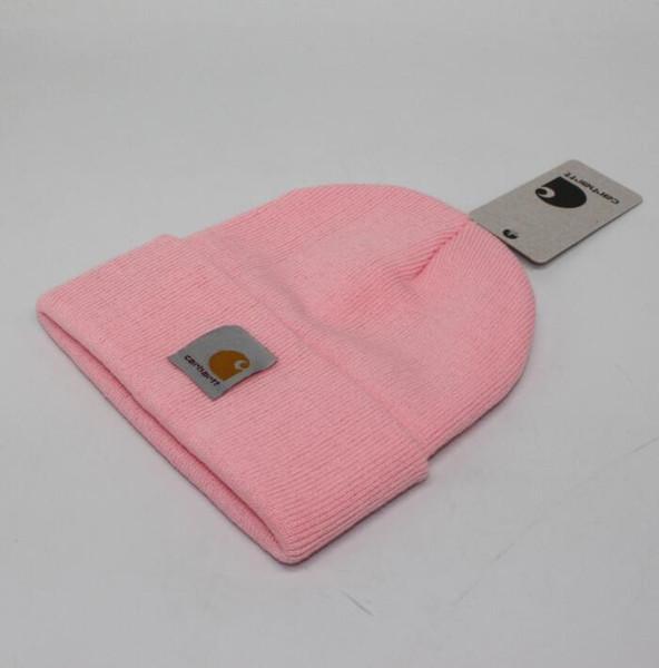 мода ppink женщины / мужчины шляпа уличных комплектов, чтобы утолстить флис двойной вязание наушники теплую шапку осень зима