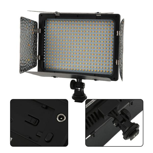 Yeni WS-368 Fotoğrafik LED Lamba Video Işığı Fotoğraf Aydınlatma NP-F Serisi telefon fotoğrafçılığı veya DSLR kamera için