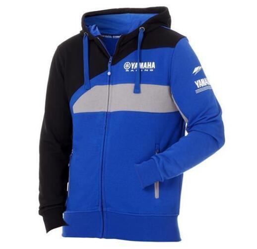 NEW 2019 Sweatshirt Yamaha M1 Coat Racing Paddock Blue Moto GP Motocross Jacket Hoody Motorcycle Sweater Jackets Blue MTB MX