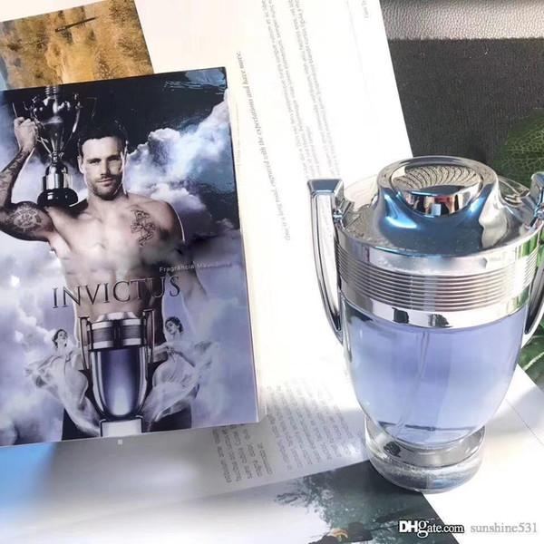 Famosa Invictus da Rabanne 3,4 once EDT Colonia per gli uomini profumo 100ML di lunga durata Tempo di buona qualità alta Fragrance