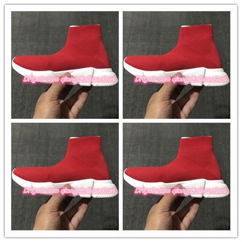 Marke Designer Kinder Sport Stiefel Wolle gestrickt atmungsaktiv Leichtathletik Jungen und Mädchen Laufschuhe Baby Sneakers neue Socken Schuhe