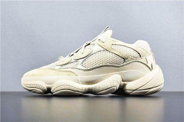 New Salt 500 Kanye West Laufschuhe Mit Original Box Designer Unisex Schuhe Super Moon Yellow Blush Desert Rat 500 Sport Sneakers