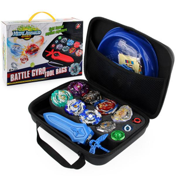top popular Beyblade Set Gyro Kit Battle Tops Case Toys 4D Constellation Beyblade Burst Gyro Battle Set With Launchers Spinning Disk Top Bey blades Toys 2020