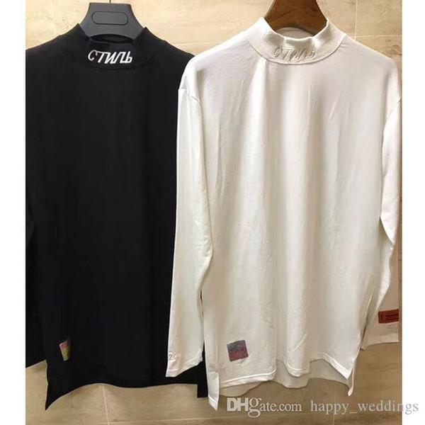 Spring New Heron Preston T Shirts Chinese Embroidery Style Men Women 1h:1 High Quality Heron Preston T-Shirt Hip Hop T-Shirt