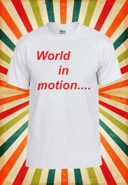 New Order World In Motion Drôle Cool Hommes Femmes Gilet Débardeur Unisexe T Shirt 2100 Drôle livraison gratuite Unisexe Casual top
