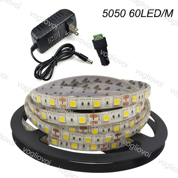 5050 60LED / M IP65 (impermeabile)